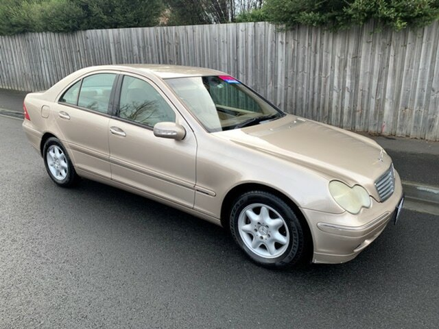 Used Mercedes-Benz C200 Kompressor Classic, North Hobart, 2003 Mercedes-Benz C200 Kompressor Classic Sedan