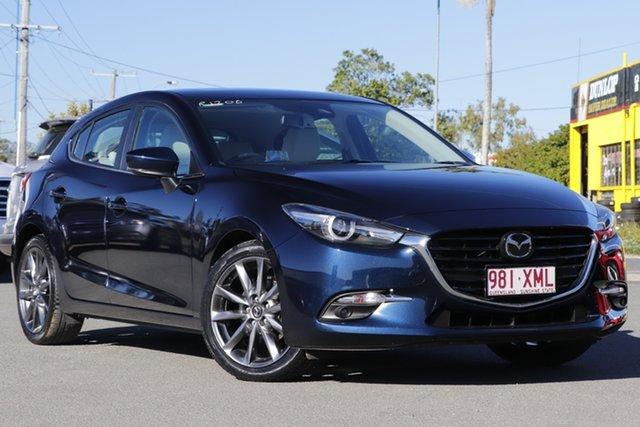 Used Mazda 3 SP25 SKYACTIV-MT Astina, Bowen Hills, 2017 Mazda 3 SP25 SKYACTIV-MT Astina Hatchback