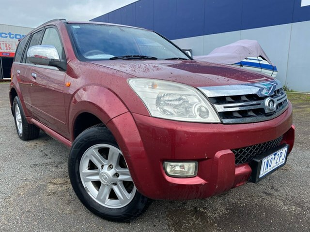 Used Great Wall X240 (4x4), Hoppers Crossing, 2010 Great Wall X240 (4x4) Wagon