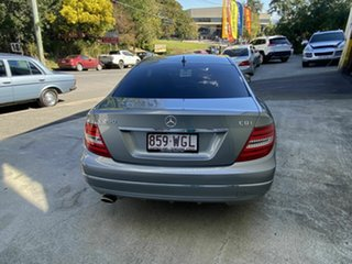 2012 Mercedes-Benz C250 CDI BE Coupe.