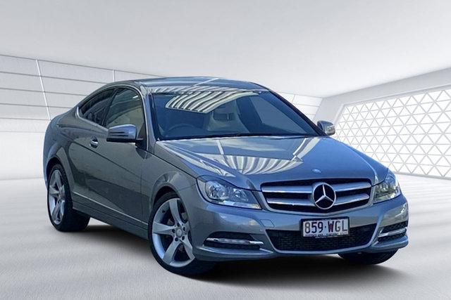 Used Mercedes-Benz C250 CDI BE, Moorooka, 2012 Mercedes-Benz C250 CDI BE Coupe