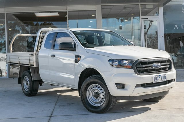 Used Ford Ranger XL 2.2 Hi-Rider (4x2), Mulgrave, 2018 Ford Ranger XL 2.2 Hi-Rider (4x2) PX MkIII MY19 Super Cab Chassis