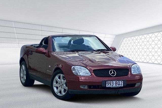 Used Mercedes-Benz SLK230 Kompressor, Moorooka, 1998 Mercedes-Benz SLK230 Kompressor Convertible