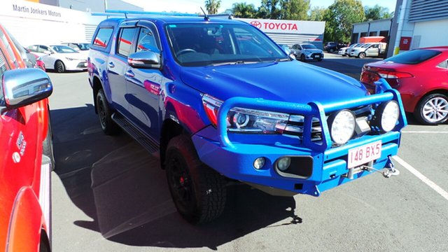 Used Toyota Hilux SR5 Double Cab, Morayfield, 2015 Toyota Hilux SR5 Double Cab Utility