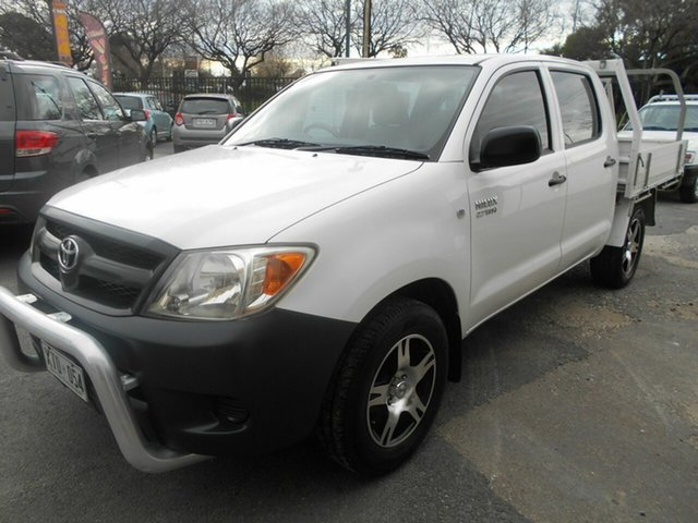 Used Toyota Hilux Workmate, Woodville, 2008 Toyota Hilux Workmate Dual Cab Pick-up