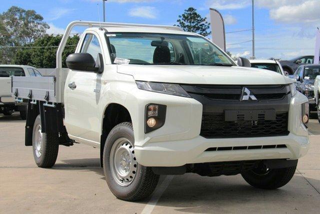 Discounted Demonstrator, Demo, Near New Mitsubishi Triton GLX 4x2, Bowen Hills, 2021 Mitsubishi Triton GLX 4x2 Cab Chassis