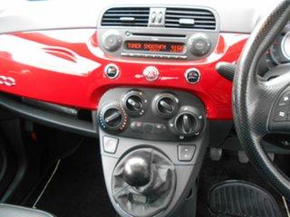 2008 Fiat 500 Lounge Hatchback.