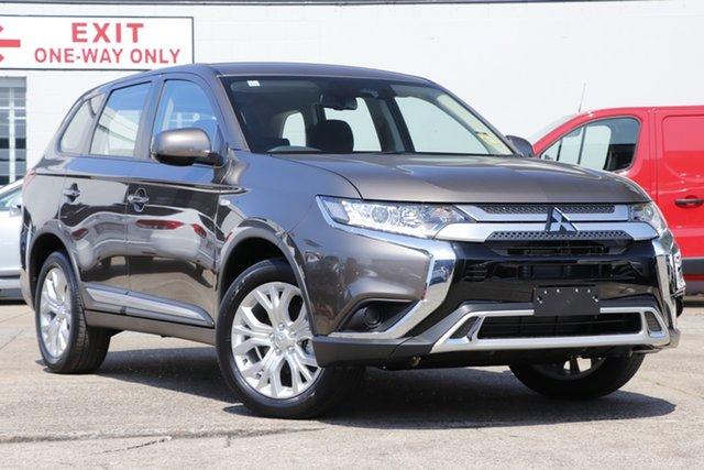 Discounted Demonstrator, Demo, Near New Mitsubishi Outlander ES AWD, Bowen Hills, 2021 Mitsubishi Outlander ES AWD Wagon