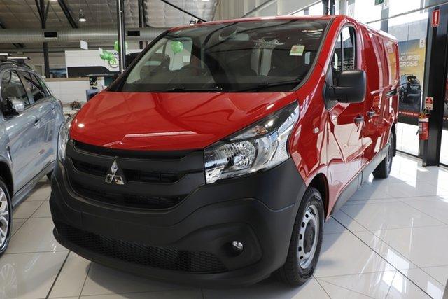 Discounted Demonstrator, Demo, Near New Mitsubishi Express GLX LWB DCT, Bowen Hills, 2020 Mitsubishi Express GLX LWB DCT Van