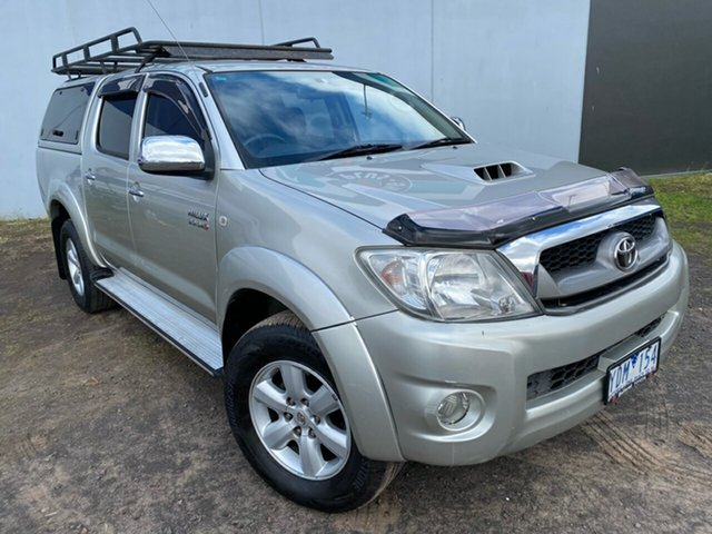 Used Toyota Hilux SR5 (4x4), Hoppers Crossing, 2010 Toyota Hilux SR5 (4x4) Dual Cab Pick-up