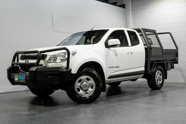 Used Holden Colorado LS (4x4), Slacks Creek, 2015 Holden Colorado LS (4x4) Space Cab Chassis
