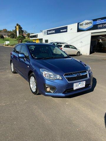 Used Subaru Impreza 2.0i-L Lineartronic AWD, Warrnambool East, 2014 Subaru Impreza 2.0i-L Lineartronic AWD Hatchback