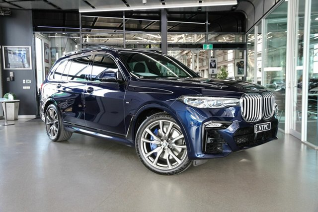 Used BMW X7 xDrive30d Steptronic, North Melbourne, 2020 BMW X7 xDrive30d Steptronic Wagon