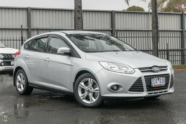 Used Ford Focus Trend, Oakleigh, 2012 Ford Focus Trend LW Hatchback