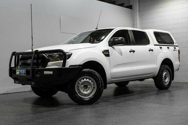 Used Ford Ranger XL 2.2 Hi-Rider (4x2), Slacks Creek, 2017 Ford Ranger XL 2.2 Hi-Rider (4x2) Crew Cab Pickup