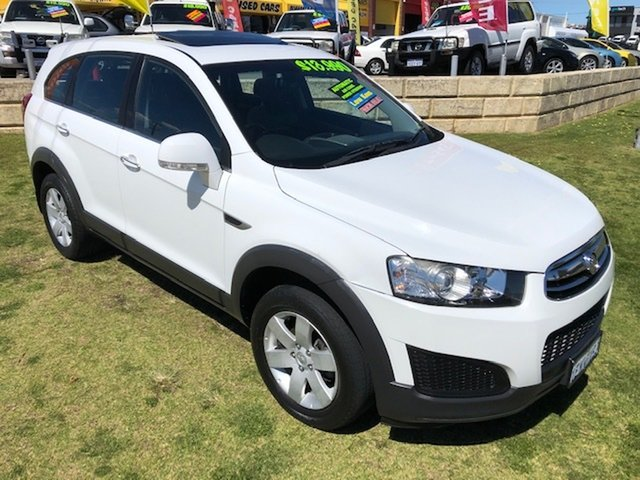 Used Holden Captiva 7 LS, Wangara, 2014 Holden Captiva 7 LS Wagon