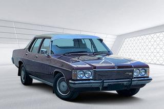 1977 Holden Statesman De Ville Sedan.