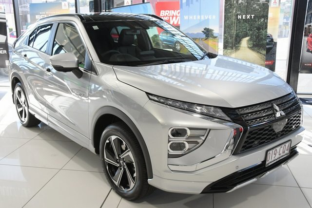 Discounted Demonstrator, Demo, Near New Mitsubishi Eclipse Cross PHEV AWD Exceed, Bowen Hills, 2021 Mitsubishi Eclipse Cross PHEV AWD Exceed Wagon