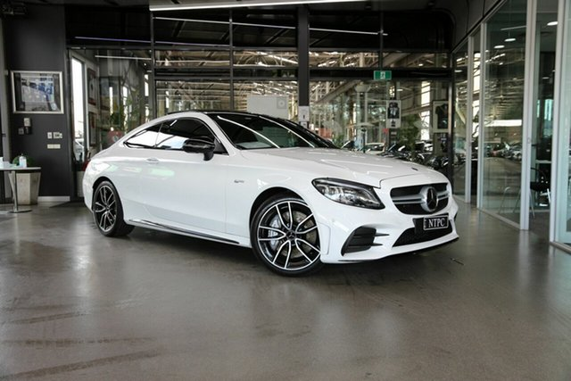 Used Mercedes-Benz C-Class C43 AMG 9G-Tronic 4MATIC, North Melbourne, 2020 Mercedes-Benz C-Class C43 AMG 9G-Tronic 4MATIC Coupe