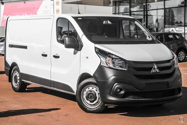 Demonstrator, Demo, Near New Mitsubishi Express GLX LWB DCT, Bowen Hills, 2020 Mitsubishi Express GLX LWB DCT Van