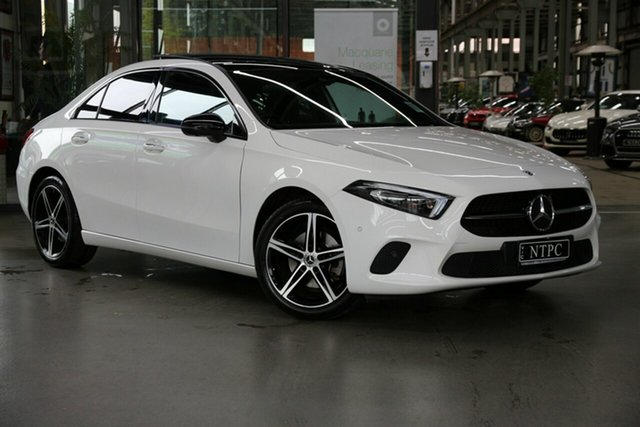 Used Mercedes-Benz A-Class A200 DCT, North Melbourne, 2019 Mercedes-Benz A-Class A200 DCT Sedan