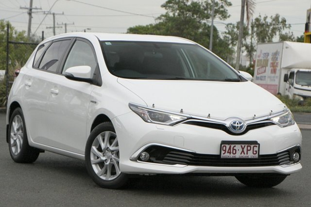 Used Toyota Corolla Hybrid E-CVT, Bowen Hills, 2017 Toyota Corolla Hybrid E-CVT Hatchback