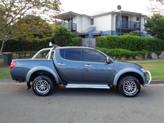 Used Mitsubishi Triton GLX-R (4x4), Chermside, 2007 Mitsubishi Triton GLX-R (4x4) ML MY08 Double Cab Utility