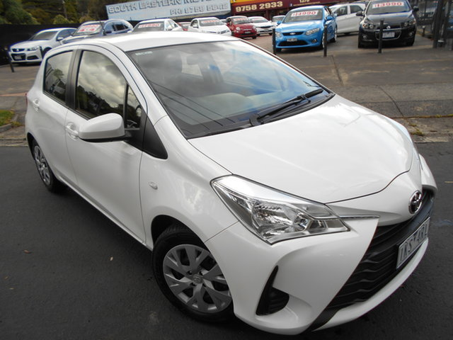 Used Toyota Yaris Ascent, Upper Ferntree Gully, 2017 Toyota Yaris Ascent Hatchback
