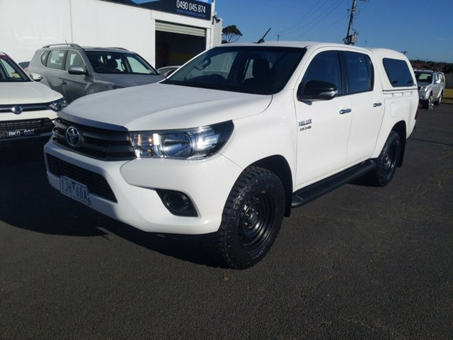 Used Toyota Hilux SR Double Cab, Warrnambool East, 2016 Toyota Hilux SR Double Cab Utility