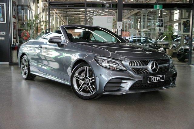 Used Mercedes-Benz C-Class C200 9G-Tronic, North Melbourne, 2019 Mercedes-Benz C-Class C200 9G-Tronic Cabriolet