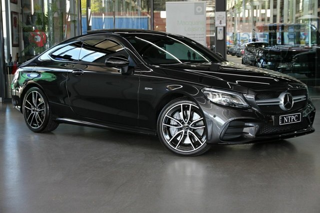 Used Mercedes-Benz C-Class C43 AMG 9G-Tronic 4MATIC, North Melbourne, 2019 Mercedes-Benz C-Class C43 AMG 9G-Tronic 4MATIC Coupe