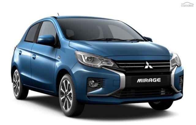 Discounted Demonstrator, Demo, Near New Mitsubishi Mirage LS, Bowen Hills, 2021 Mitsubishi Mirage LS Hatchback