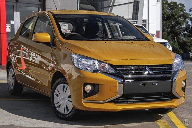 Discounted Demonstrator, Demo, Near New Mitsubishi Mirage ES, Bowen Hills, 2021 Mitsubishi Mirage ES Hatchback