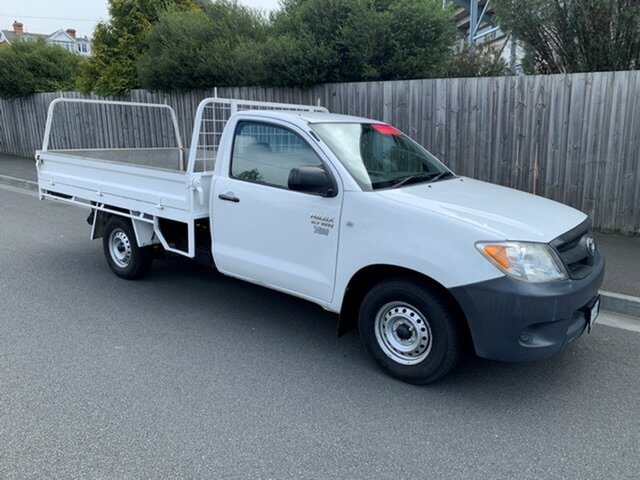 Used Toyota Hilux Workmate, North Hobart, 2006 Toyota Hilux Workmate Cab Chassis