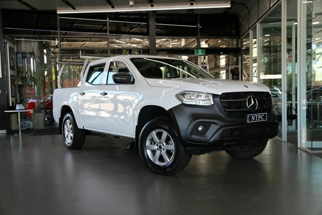 Used Mercedes-Benz X-Class X250d 4MATIC Pure, North Melbourne, 2018 Mercedes-Benz X-Class X250d 4MATIC Pure Utility