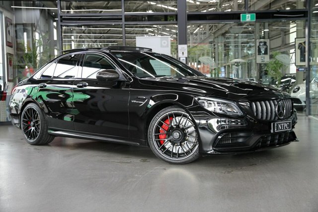 Used Mercedes-Benz C-Class C63 AMG SPEEDSHIFT MCT S, North Melbourne, 2019 Mercedes-Benz C-Class C63 AMG SPEEDSHIFT MCT S Sedan