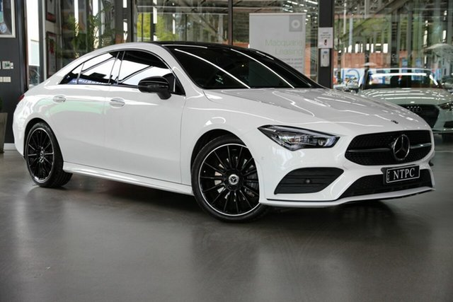 Used Mercedes-Benz CLA-Class CLA200 DCT, North Melbourne, 2020 Mercedes-Benz CLA-Class CLA200 DCT Coupe