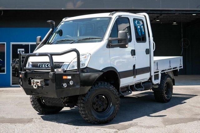Used Iveco Daily 55S17W (4x4) (WB3400), Slacks Creek, 2015 Iveco Daily 55S17W (4x4) (WB3400) Dual Cab Chassis